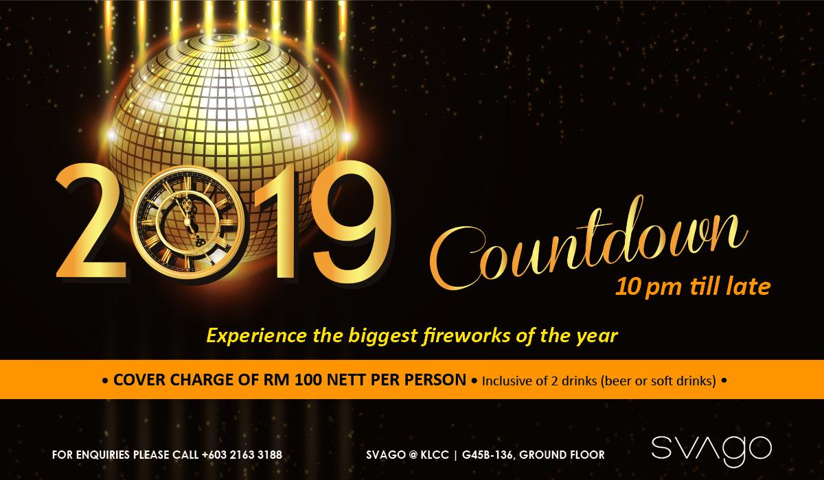 2019 COUNTDOWN @ SVAGO KLCC