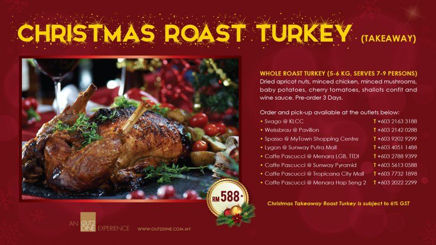 CHRISTMAS ROAST TURKEY!